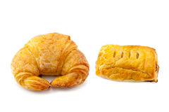 Croissant and Pie Royalty Free Stock Image