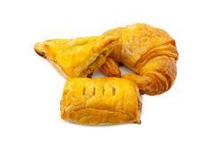 Croissant and Pie Royalty Free Stock Images