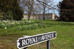 Croissant royal, Bath Images libres de droits