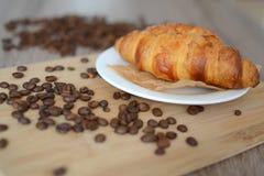 Croissant saboroso Foto de Stock Royalty Free