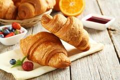 Croissant saporiti freschi Fotografia Stock