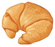 Croissant saporito illustrazione vettoriale