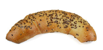 Croissant With Seeds Stock Images