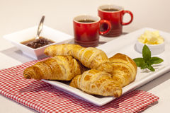Croissant Selection Royalty Free Stock Photography