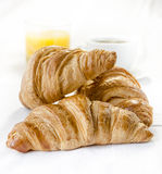 Croissant senza glutine Immagini Stock Libere da Diritti