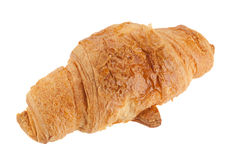 Croissant snack on white Royalty Free Stock Photography