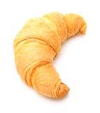 Croissant su bianco fotografia stock
