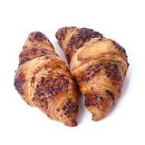 Croissant on the table Royalty Free Stock Images