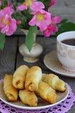 Croissant. Tasty and fresh croissants Shallow DOF royalty free stock photo