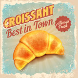 Croissant vintage Royalty Free Stock Photography