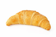 Croissant on white background Stock Images