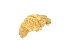 Croissant on white background Royalty Free Stock Photos