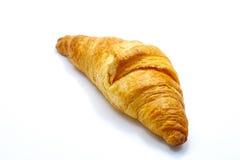 Croissant  on white background, tasty breakfast food Stock Photos