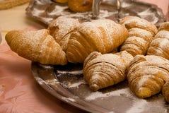 Croissanten Stock Afbeelding