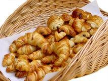 Croissanten royalty-vrije stock foto's