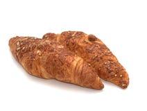 Croissanten met kaas royalty-vrije stock afbeeldingen