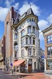 Croissanterie Egstorf, tienda de la panadería en Amsterdam, Países Bajos Foto de archivo libre de regalías