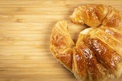 croissants φρέσκος Στοκ φωτογραφίες με δικαίωμα ελεύθερης χρήσης