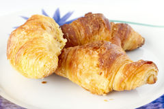 Croissants Photos libres de droits