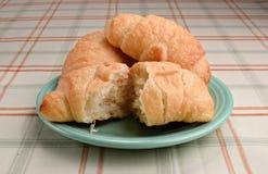 Croissants. Stock Afbeeldingen