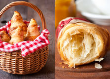 Croissants. stock photography
