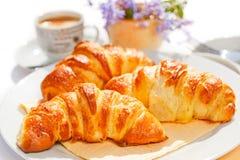 Croissants Royalty-vrije Stock Afbeeldingen