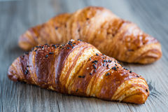 Croissants Στοκ εικόνα με δικαίωμα ελεύθερης χρήσης