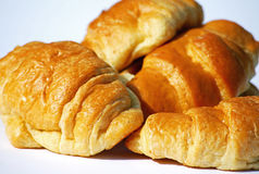 Croissants. Close up shot of some tasty croissants Royalty Free Stock Photography
