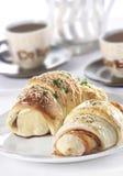 Croissants Zdjęcia Royalty Free