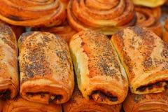Croissants Images libres de droits