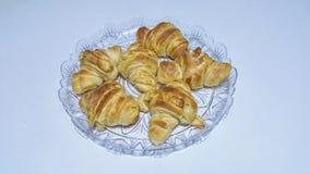 Croissants Στοκ εικόνες με δικαίωμα ελεύθερης χρήσης