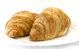 Croissants avec Royalty Free Stock Photos