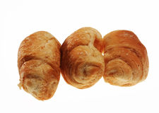 Croissants at bakery Royalty Free Stock Photography