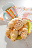 Croissants for breakfast Royalty Free Stock Image