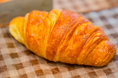 Croissants breakfast food Royalty Free Stock Photography