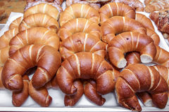 croissants bulk Royalty Free Stock Photography