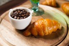 Croissants caseiros Fotos de Stock Royalty Free