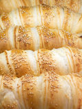Croissants closeup Stock Photo