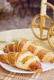 Croissants closeup Stock Image