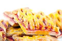 Croissants con ostruzione Immagine Stock