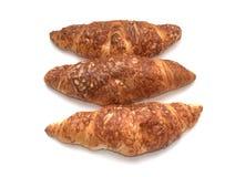 Croissants con queso Foto de archivo