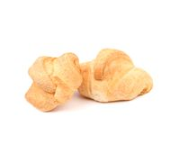 Croissants or crescent rolls Stock Image