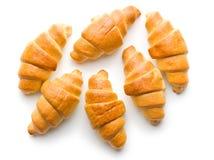 Croissants de beurre doux photographie stock libre de droits