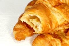 Croissants de oro Fotografía de archivo libre de regalías