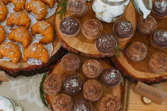 Croissants dessert Stock Photo
