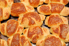 croissants domowej roboty Zdjęcie Stock