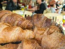 Croissants et café (1) Image libre de droits