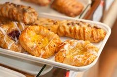 Croissants et danois Photos libres de droits