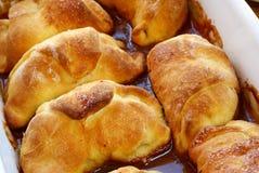 Croissants faits maison Image libre de droits