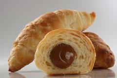croissants farciti Fotografia Stock Libera da Diritti
